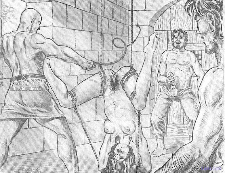 Порно экзекуция гениталий