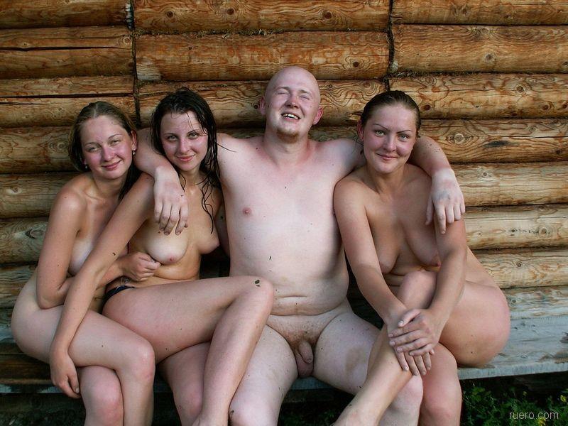 Ню секс в деревне 15
