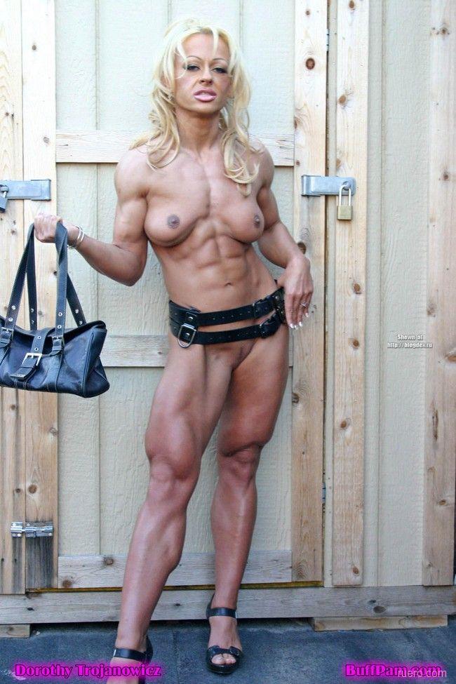 женский бодибилдинг фото голая