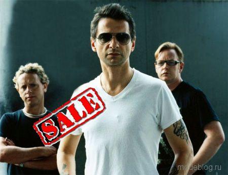 Билеты на московский концерт Depeche mode будут стоить 10000 рублей.