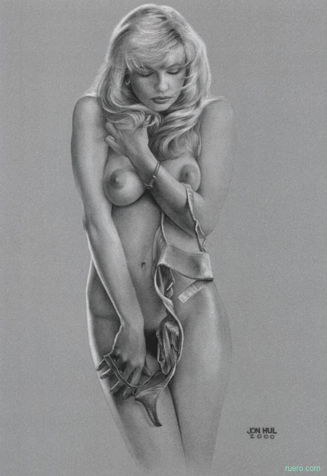 Откровенная рисованная эротика в стиле ню волосатые обвисшие сиськи
