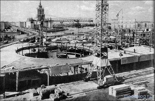 как строили Новый арбат Калининский проспект
