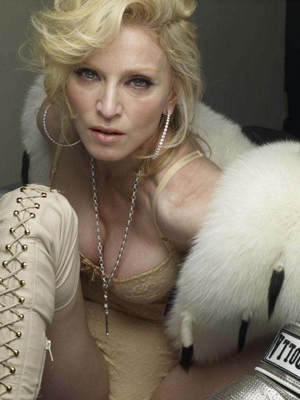 Мадонна голая фотошоп сами