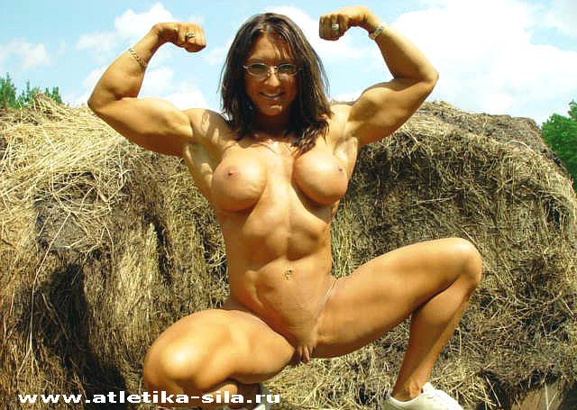 женщины культуристки голые фото