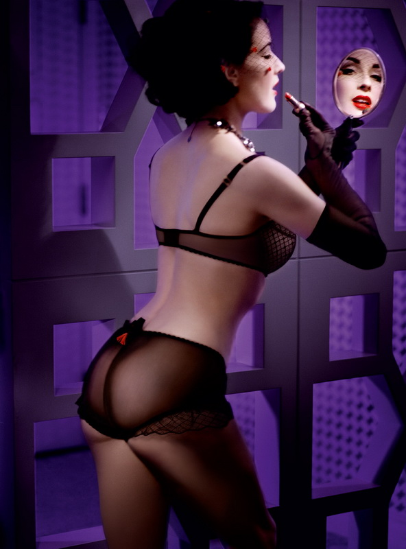 Dita von Teese for Wonderbra Party