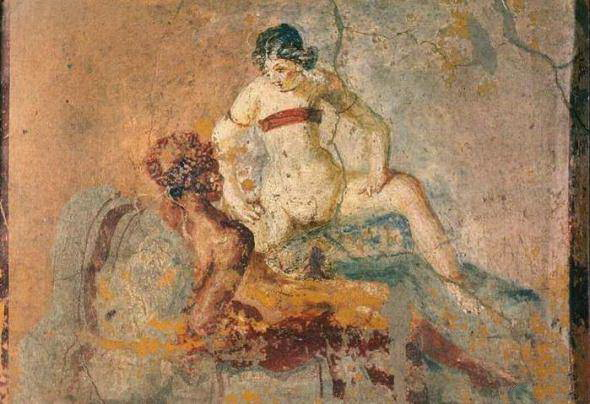Древние римлянки и анальный секс