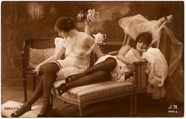 эротические картинки старинные