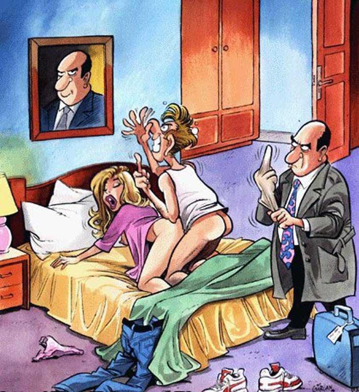 Карикатуры эротика секс #3